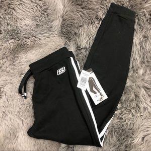 Skechers Jogger Pants: Black & White (PM1426)